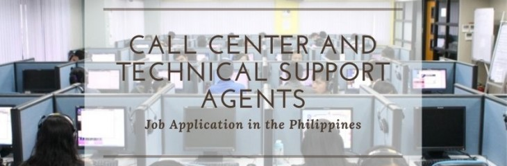 COVID-19 Call Center and Technical Support Agents Jobs in the Philippines