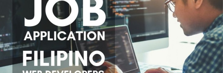 Jobs for Filipino Web Developers to do Remote Work in COVID-19